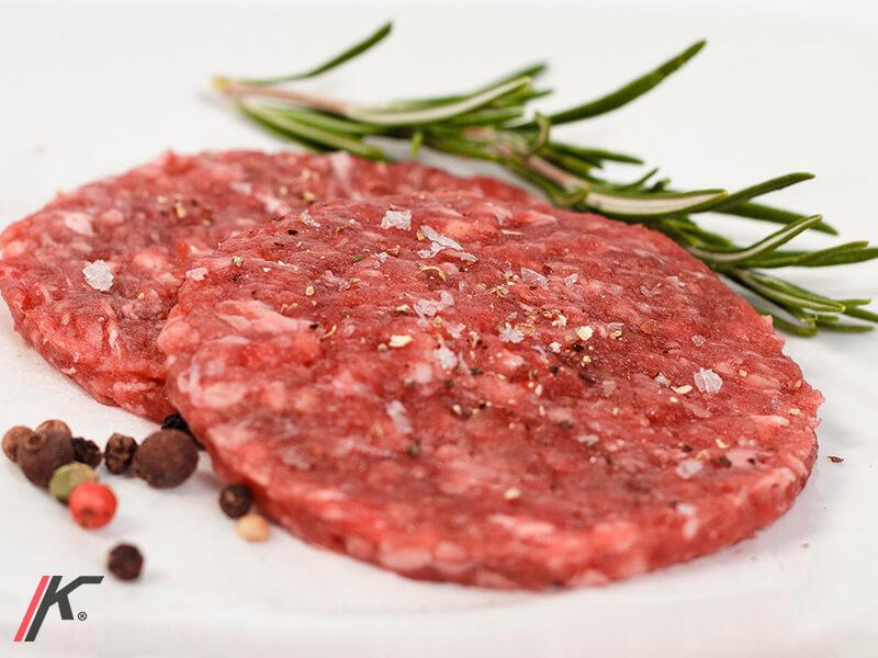 45 grams burger with 6 / 5000 Resultados de traducción rosemary